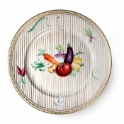 Potager Gold Dinner Plate