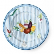 Potager Blue Dinner Plate