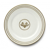 Or Des Airs / Or Des Mer Dinner Plate / 3