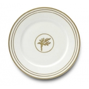 Or Des Airs / Or Des Mer Dinner Plate / 6