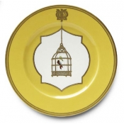Les Perroquetes Dinner Plate