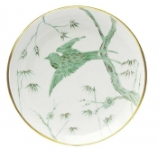 Envol Dinner Plate  / Green Border