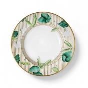 Potager Gold Soup Plate
