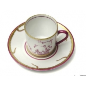 Chinoiserie Coffe Cup & Saucer