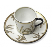 Or Des Airs / Or Des Mer Coffee Cup & Saucer