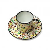 Renouveau Russe Coffee Cup & Saucer