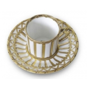 Vannerie Coffee Cup & Saucer