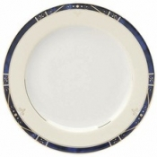 Scala Blue Gold Filet  Bread & Butter Plate