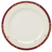 Scala Red Gold Filet  Bread & Butter Plate