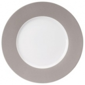 Les Indiennes Powdered Grey / No Filet - Presentation Plate