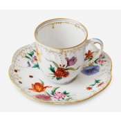 Belles Saisons Coffee Cup & Saucer