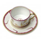 Chinoiserie Tea Cup & Saucer