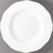 Argent White French Rim Soup Plate