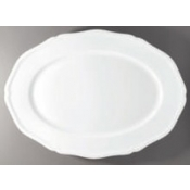 Argent White Oval Dish - Large