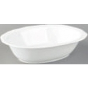 Argent White Open Vegetable Dish