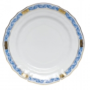 Chinese Bouquet Garland Blue Bread & Butter Plate