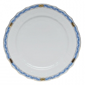Chinese Bouquet Garland Blue Service Plate