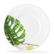Dessert Plate / Philodendron