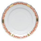 Chinese Bouquet Garland Rust Bread & Butter Plate