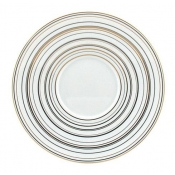 Attraction Gold & Platinum Bread & Butter Plate