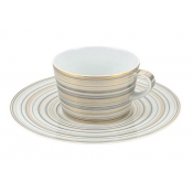 Attraction Gold & Platinum Large Tea Saucer