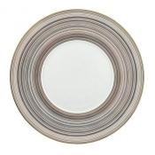 Attraction Gold & Platinum Round Buffet Plate