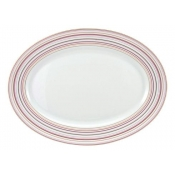Attraction Rose Oval Platter