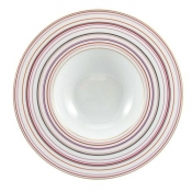 Attraction Rose Rim Soup Bowl