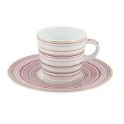 Attraction Rose Large Coffee Saucer