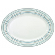 Attraction Turquoise Oval Platter