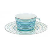 Attraction Turquoise Large Tea Saucer
