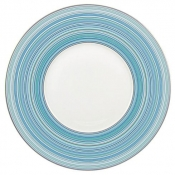 Attraction Turquoise Round Buffet Plate