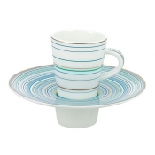Attraction Turquoise Expresso Saucer