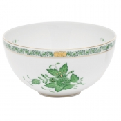 Chinese Bouquet Green Small Bowl