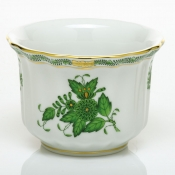 Herend Mini Cachepot - Chinese Bouquet Green