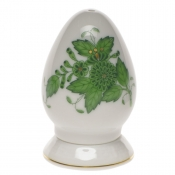 Chinese Bouquet Green PEPPER SHAKER SINGLE HOLE