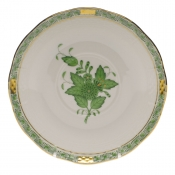 Chinese Bouquet Green COVERED BOUILLON SAUCER