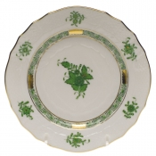 Chinese Bouquet Green BREAD & BUTTER PLATE