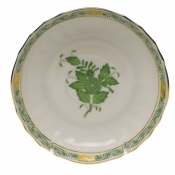 Chinese Bouquet Green CANTON SAUCER