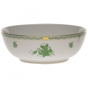 Chinese Bouquet Green LARGE BOWL
