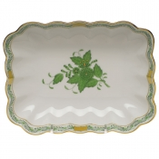 Oblong Dish - Green