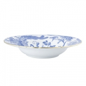 Blue Aves Rim Soup Bowl