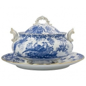 Blue Aves Soup Tureen & Cover