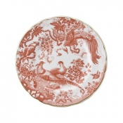 Red Aves Salad Plate