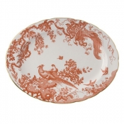 Red Aves Large Platter - 15""