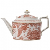 Red Aves Teapot
