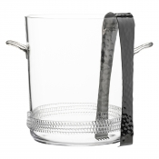 Juliska Dean Ice Bucket with Tongs