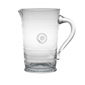 Berry and Thread Glass Pitcher