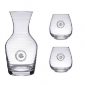 Berry & Thread Glass Carafe and Red Wine Gift Set