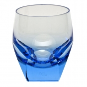 Moser Bar Double Old Fashion - Aquamarine